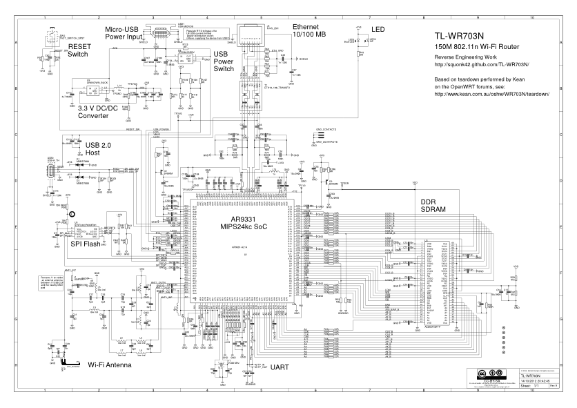 TL WR703N Schematic router circuit diagram readingrat net,Wiring Diagram For A Ethernet Switch